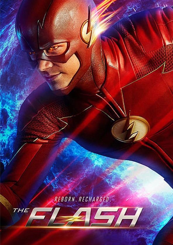The Flash Temporada 4 poster