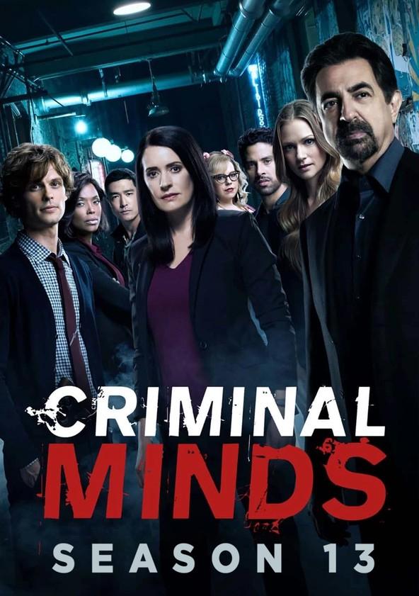 Criminal Minds Staffel 13 poster