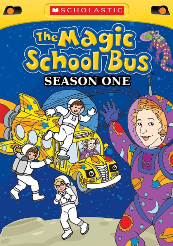 Autobuzul școlii magic