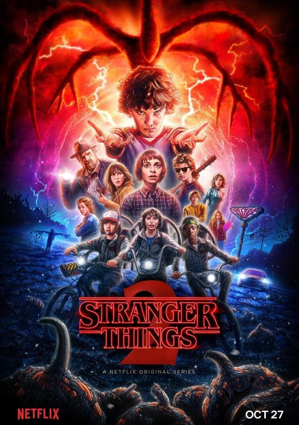 Stranger Things Staffel 2 poster
