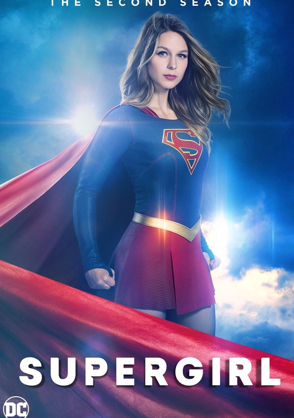 DC: Supergirl Sezon 2 poster