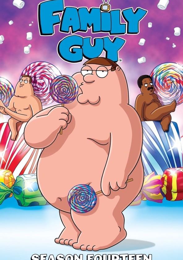 Family Guy Season 14 poster