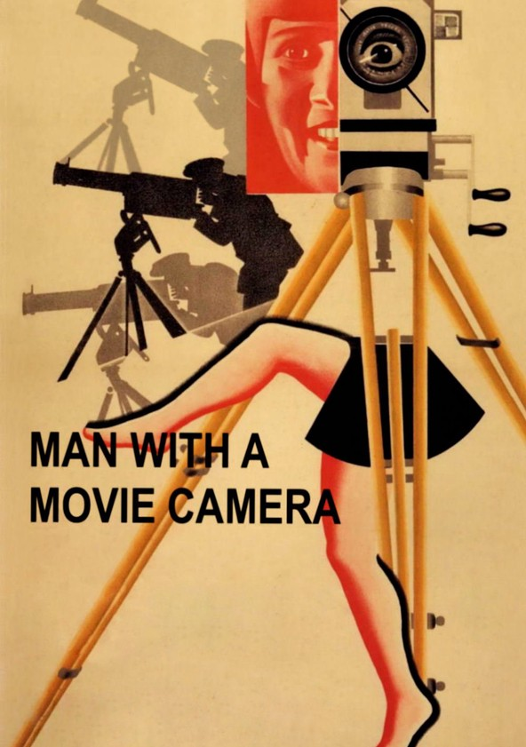 Man with a Movie Camera poster