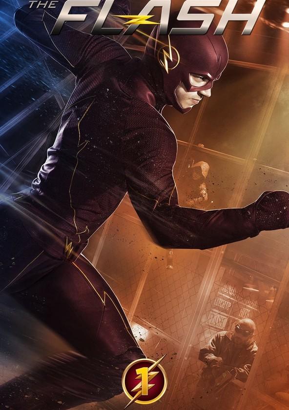 The Flash Temporada 1 poster