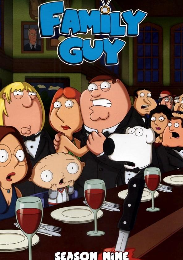 Family Guy Season 9 poster