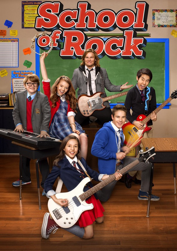 school of rock serien stream