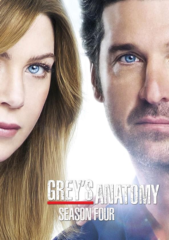 Anatomía de Grey Temporada 4 poster