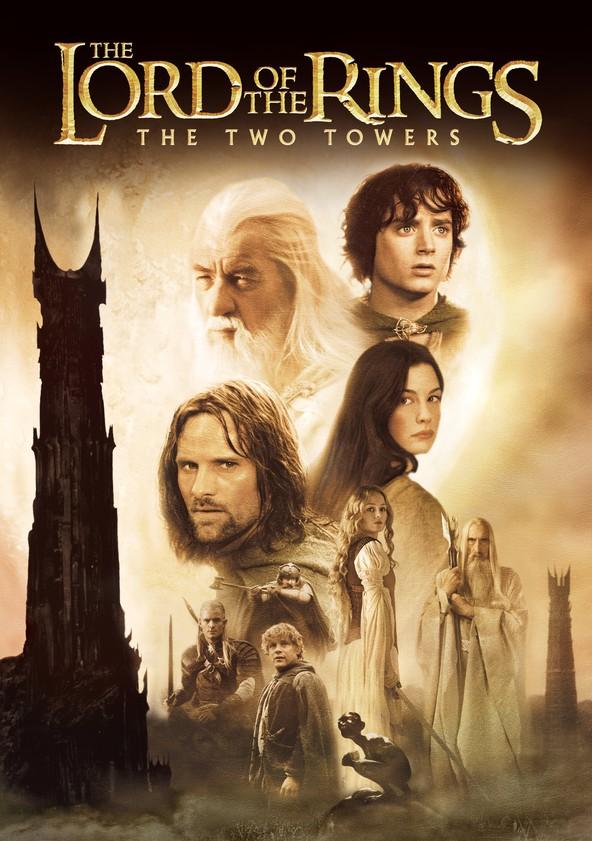 Taru sormusten herrasta: Kaksi tornia poster