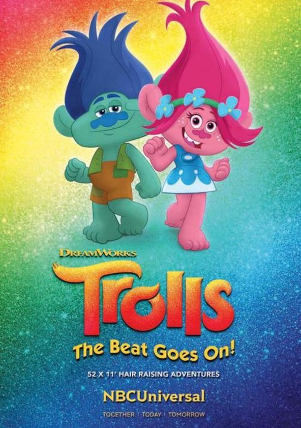 Trolls: The Beat Goes On! poster