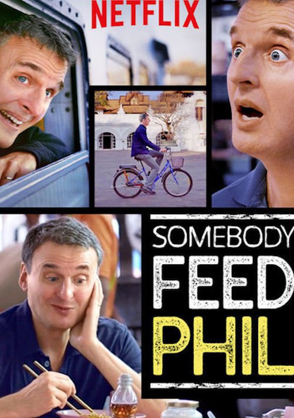 Somebody Feed Phil poster