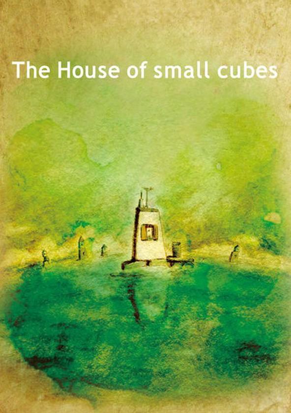 Das Haus aus kleinen Schachteln poster