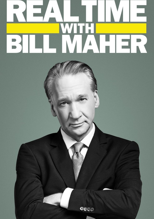 Real Time with Bill Maher Temporada 17 poster