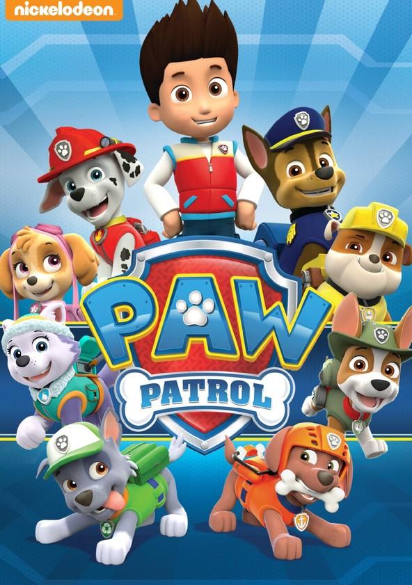 Paw Patrol Helfer auf vier Pfoten poster