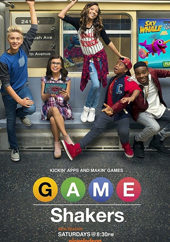 Game Shakers Season 1 poster
