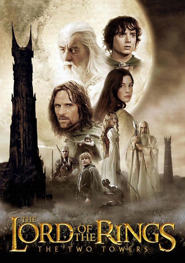 The Lord of the Rings: The Two Towers (Extended) poster