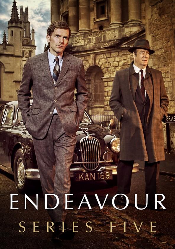 Endeavour Season 5 poster