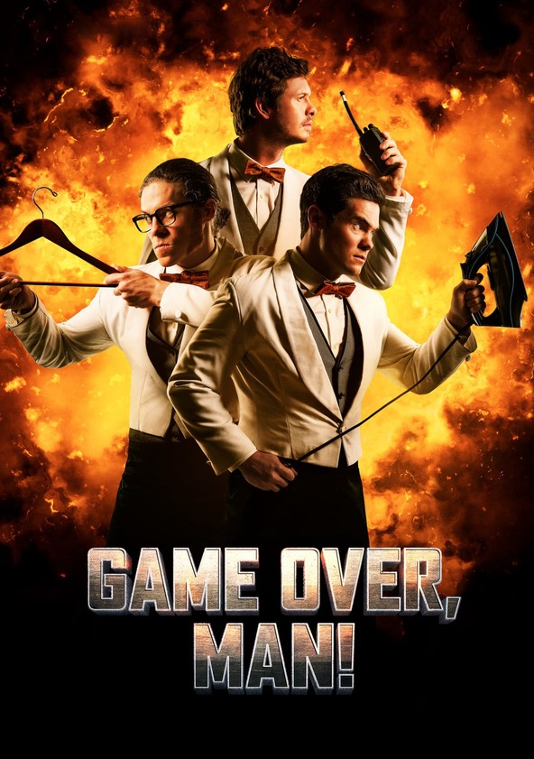 Game Over, Man! poster