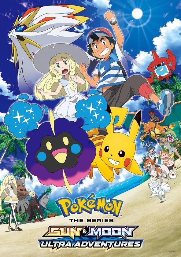 Pokémon Sun & Moon: Ultra Adventures poster