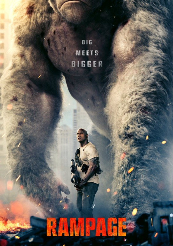 Rampage - Big meets Bigger poster