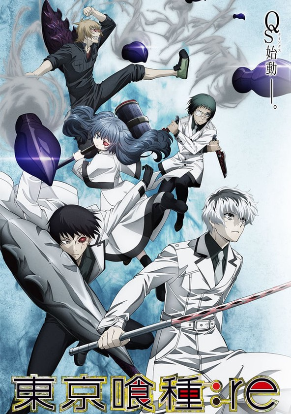 Tokyo Ghoul Saison 3 - Tokyo Ghoul:Re poster