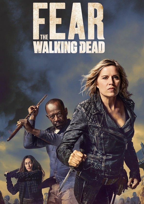 Fear the Walking Dead Staffel 4 poster