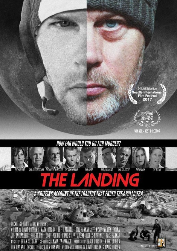 The Landing poster