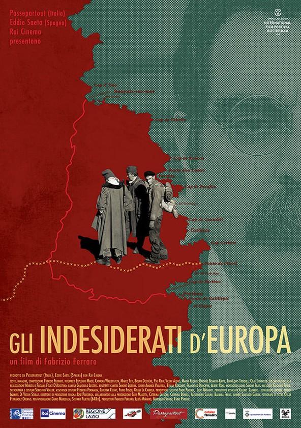 Les Unwanted de Europa poster