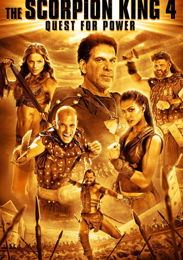 The Scorpion King: Quest for Power poster