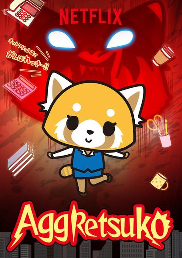 Aggretsuko movie poster
