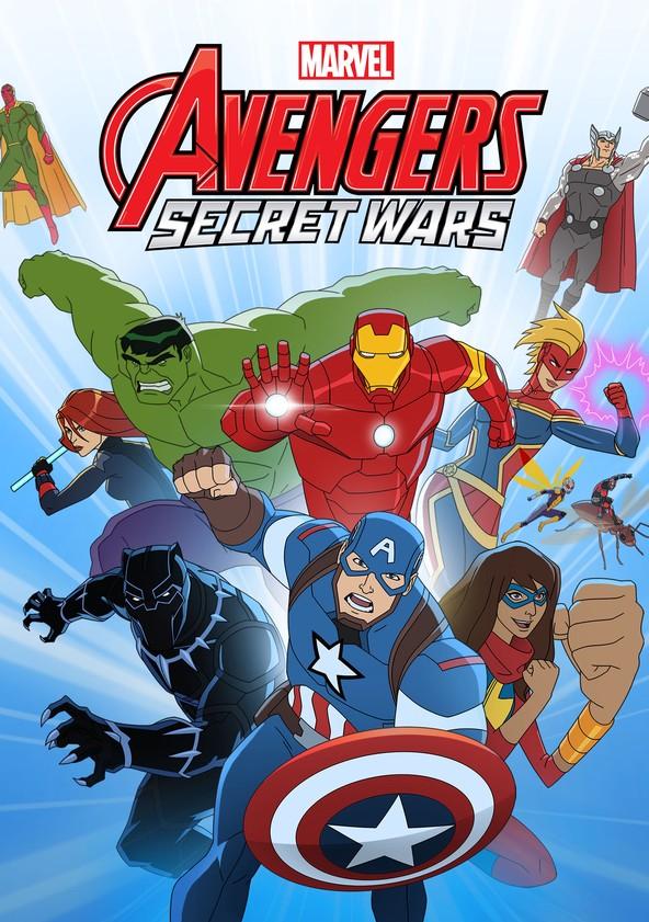 Marvel's Avengers Assemble Season 4 - Secret Wars poster