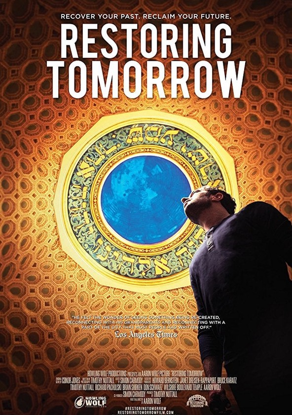 Restoring Tomorrow poster