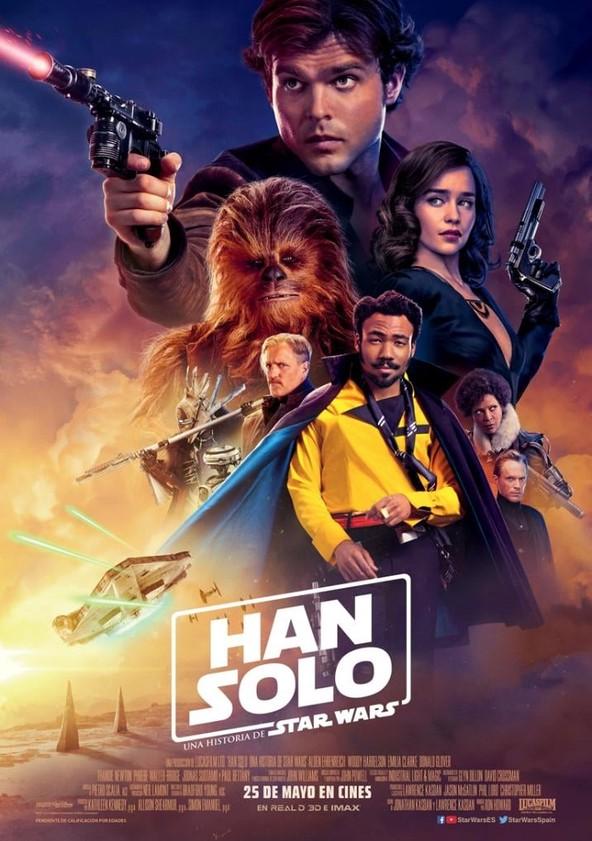 Han Solo: Una historia de Star Wars poster
