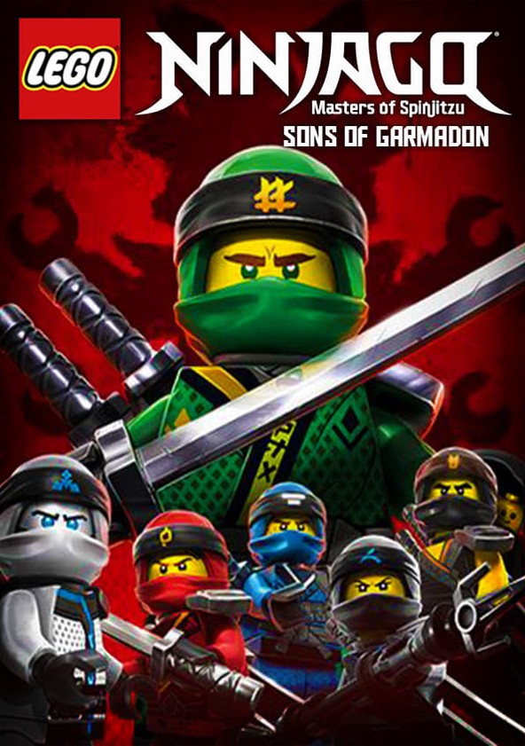 LEGO Ninjago: Masters of Spinjitzu Sons of Garmadon poster