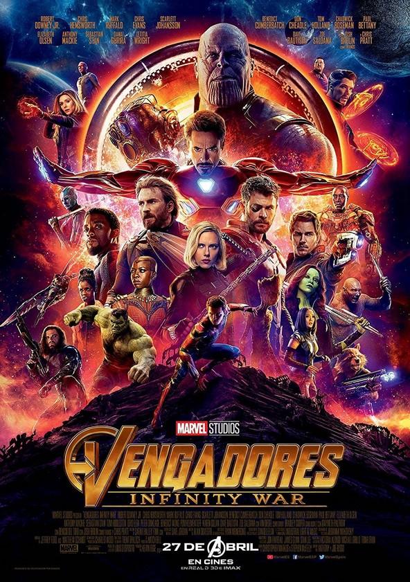 Vengadores: Infinity War poster
