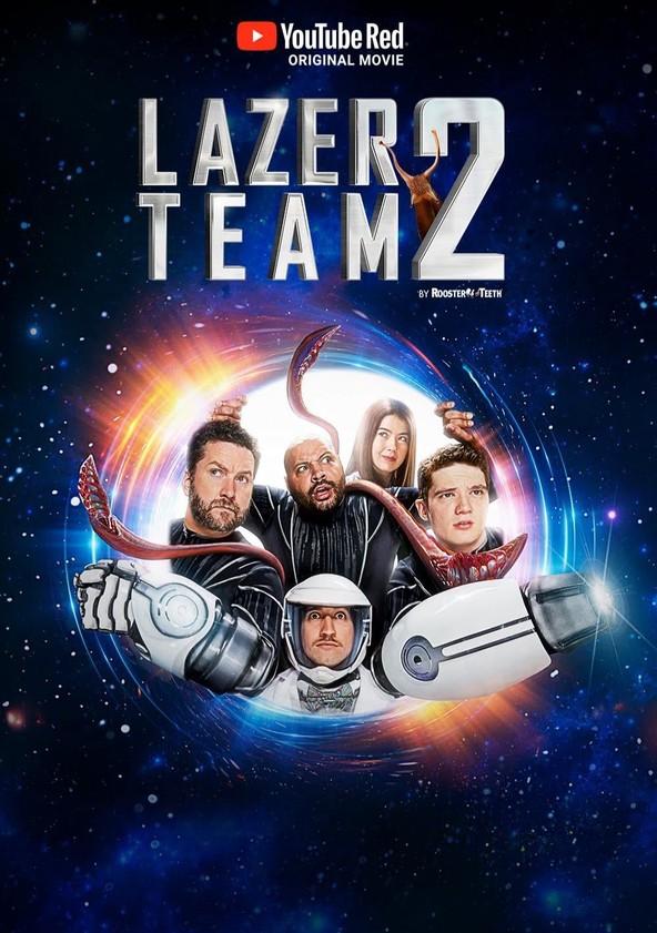 Лазерная команда 2 poster
