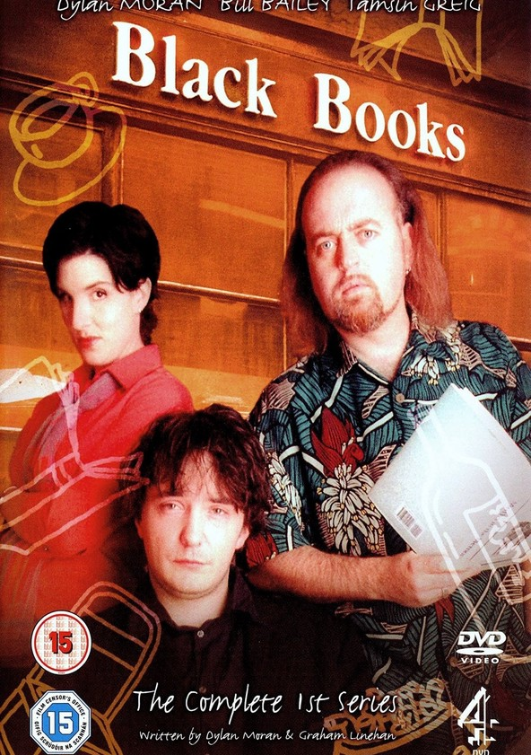 Black Books Season 1 poster
