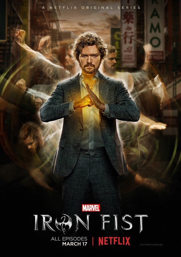 Marvel's Iron Fist poster