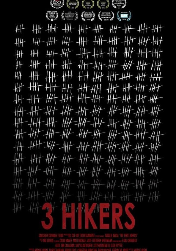 3 Hikers poster