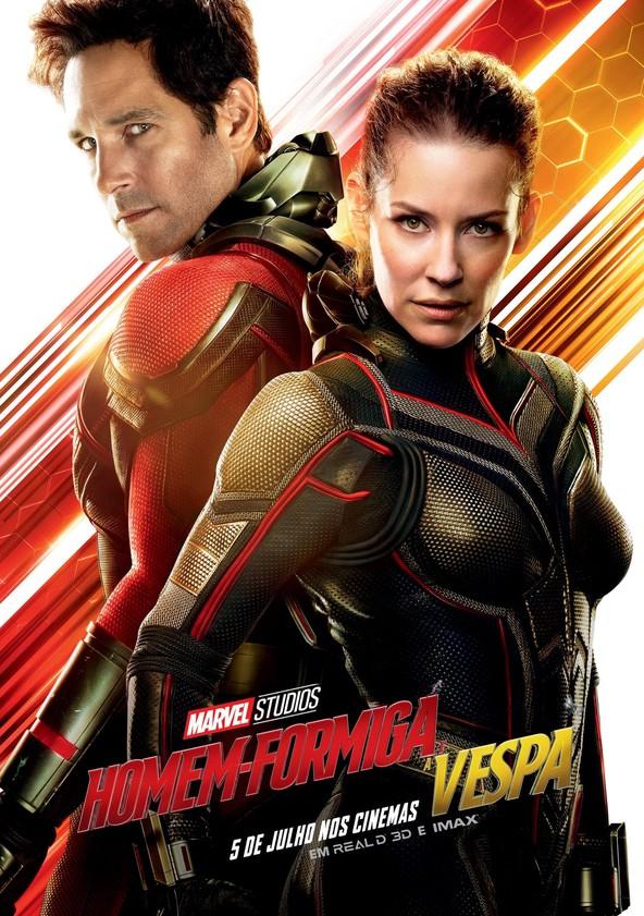 Homem-Formiga e a Vespa poster