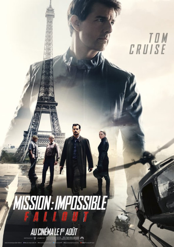 Mission : Impossible – Fallout poster
