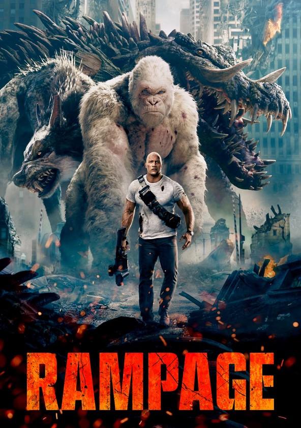 Rampage: iso kohtaa isomman poster