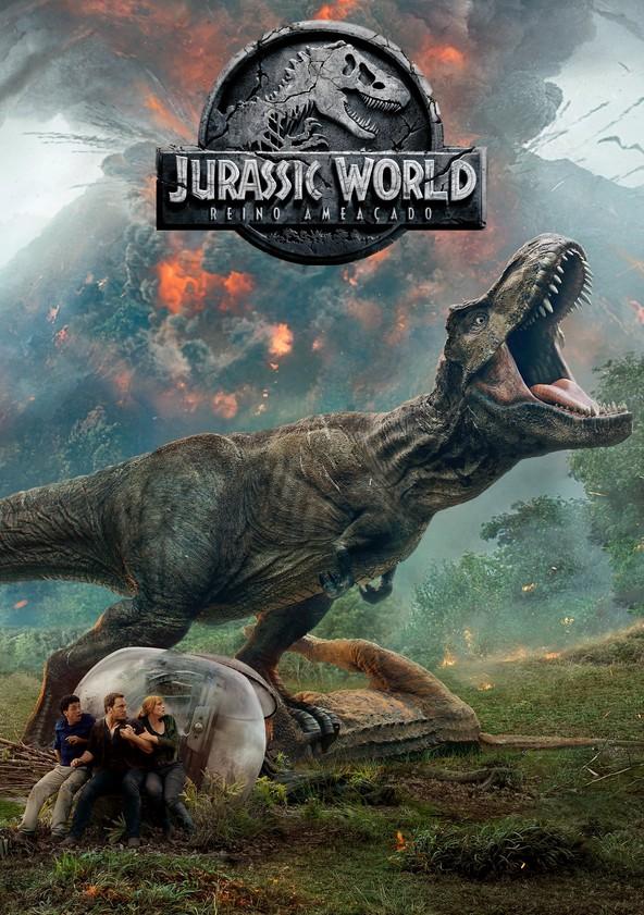 Mundo Jurássico: Reino Caído poster