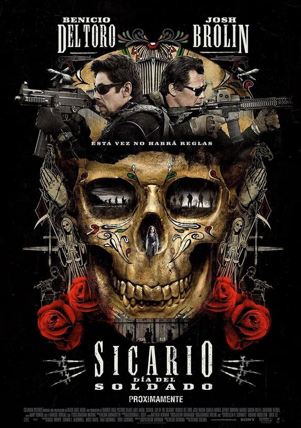 Sicario: El día del soldado poster