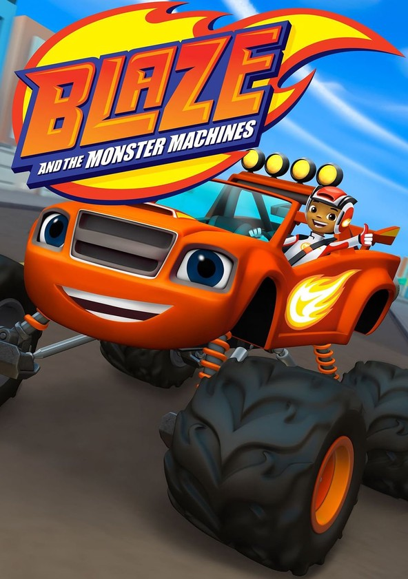 Blaze and the Monster Machines Season 4 poster