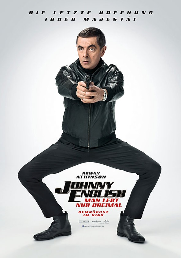 Johnny English - Man lebt nur dreimal poster