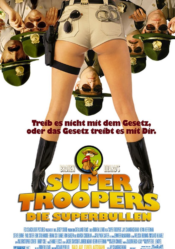 Super Troopers - Die Superbullen poster