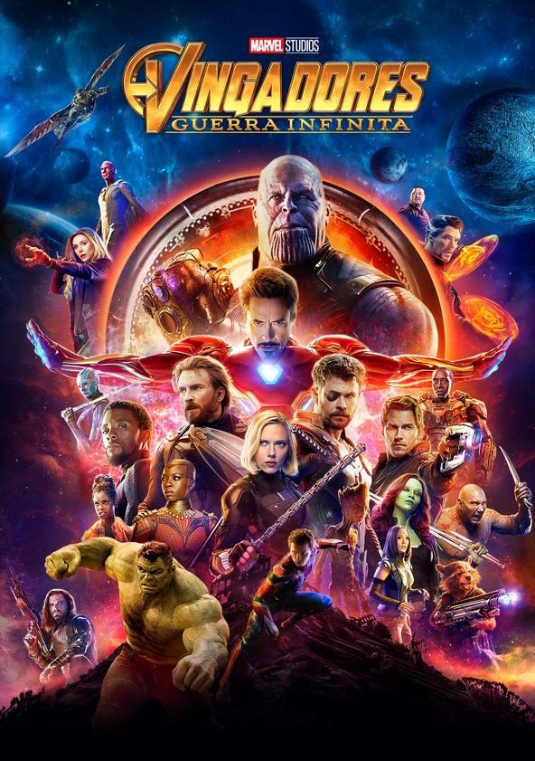 Vingadores: Guerra Infinita poster