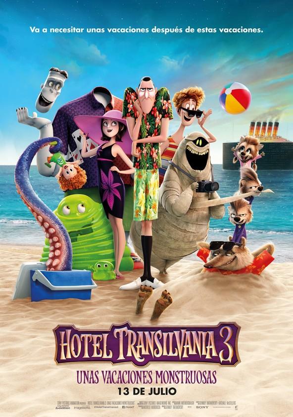 Hotel Transilvania 3: Unas vacaciones monstruosas poster