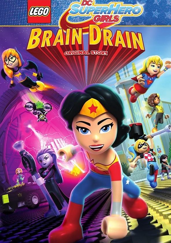 LEGO DC Super Hero Girls: Brain Drain poster