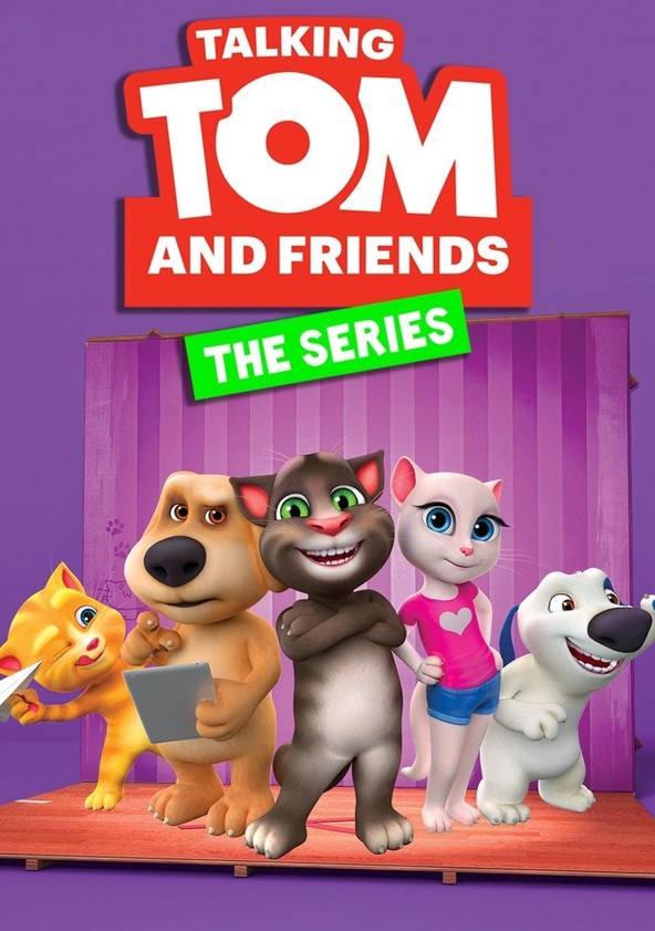 Talking Tom and Friends Season 1 poster